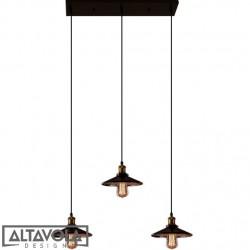 Lampa wisząca EINDHOVEN LOFT No. 3 CL – żyrandol ALTAVOLA