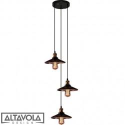 Lampa wisząca EINDHOVEN LOFT No. 3 CO – żyrandol ALTAVOLA