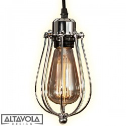 Lampa wisząca KOPENHAGEN LOFT CHROM ALTAVOLA