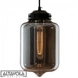 Lampa wisząca szklana LONDON LOFT No. 2S ALTAVOLA