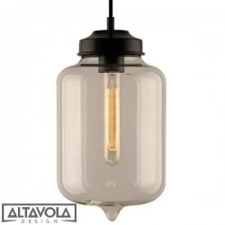 Lampa wisząca szklana LONDON LOFT No. 2 ALTAVOLA