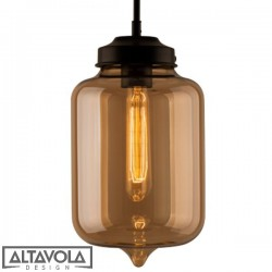 Lampa wisząca szklana LONDON LOFT No. 2B ALTAVOLA
