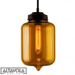 Lampa wisząca szklana LONDON LOFT No. 2 BI ALTAVOLA