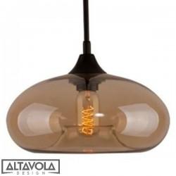 Lampa wisząca szklana LONDON LOFT No. 3B ALTAVOLA