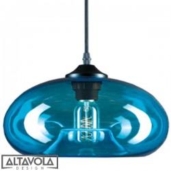 Lampa wisząca szklana LONDON LOFT No. 3BL ALTAVOLA