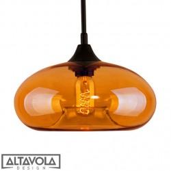Lampa wisząca szklana LONDON LOFT No. 3BI ALTAVOLA