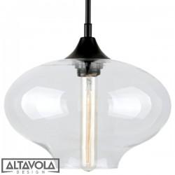 Lampa wisząca szklana LONDON LOFT No. 6 ALTAVOLA