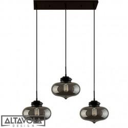 Lampa wisząca szklana LONDON LOFT NO. 1 CL S – żyrandol ALTAVOLA