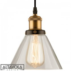 Lampa wisząca szklana NEW YORK LOFT NO. 1 ALTAVOLA