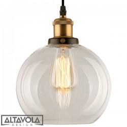 Lampa wisząca szklana NEW YORK LOFT NO. 2 ALTAVOLA