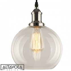 Lampa wisząca szklana NEW YORK LOFT NO. 2 CH ALTAVOLA