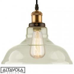 Lampa wisząca szklana NEW YORK LOFT NO. 3 ALTAVOLA
