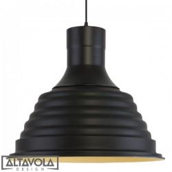 Lampa wisząca SOFT LOFT NO.1 – czarna ALTAVOLA