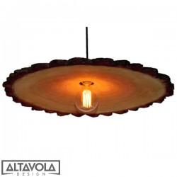 Lampa wisząca drewniana WOODEN FLOWER ALTAVOLA