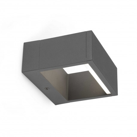 Kinkiet zewnętrzny ALP LED Dark grey wall lamp FARO