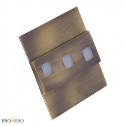 Oprawa schodowa LED MODESTO mosiądz / brass