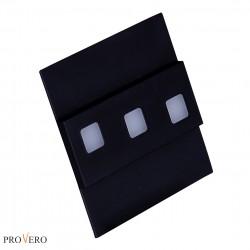 Oprawa schodowa LED MODESTO czarna / black