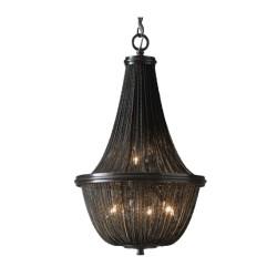 LAMPA wisząca ROMA duża czarna