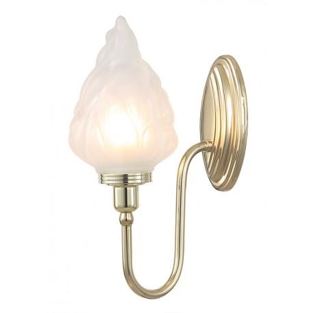 Kinkiet Bathroom Blake3 Polished Brass Elstead