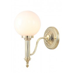 Kinkiet Bathroom Carroll4 Polished Brass Elstead