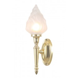 Kinkiet Bathroom Dryden3 Polished Brass Elstead