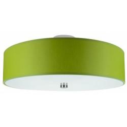 Plafon RING zielony
